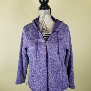 Dickie's Womens Sweatshirt Purple, Medium